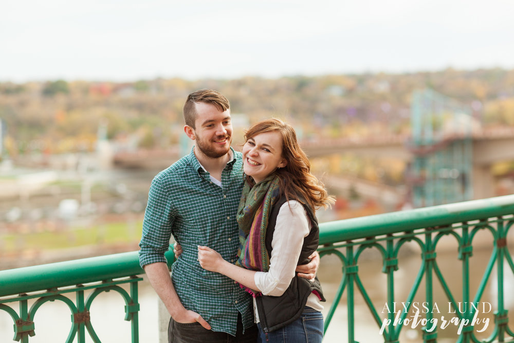 Minneapolis engagement photography by Alyssa Lund Photography