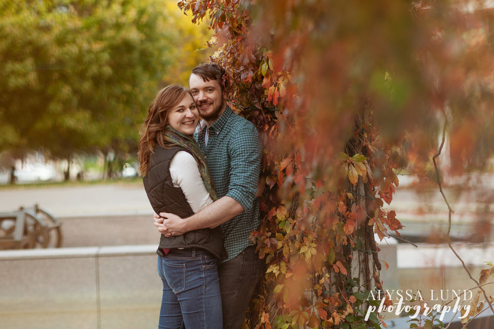 St. Paul Fall Engagement Session 3