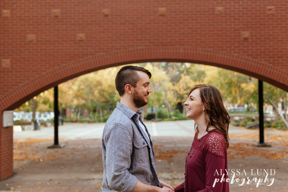 St. Paul Fall Engagement Session 2