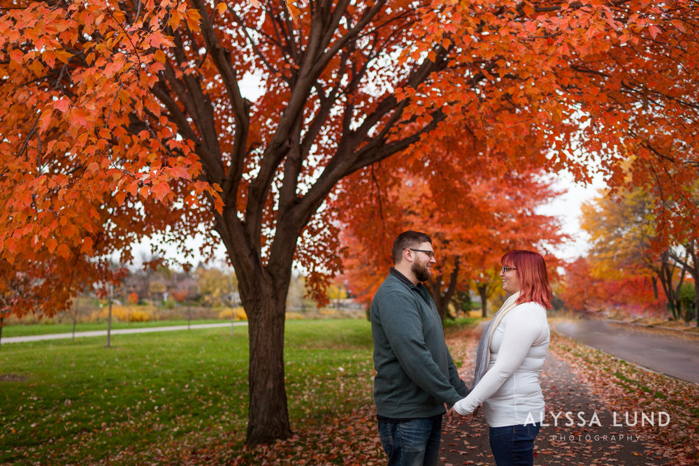 anniversary portraits in Minneapolis by Alyssa Lund Photography