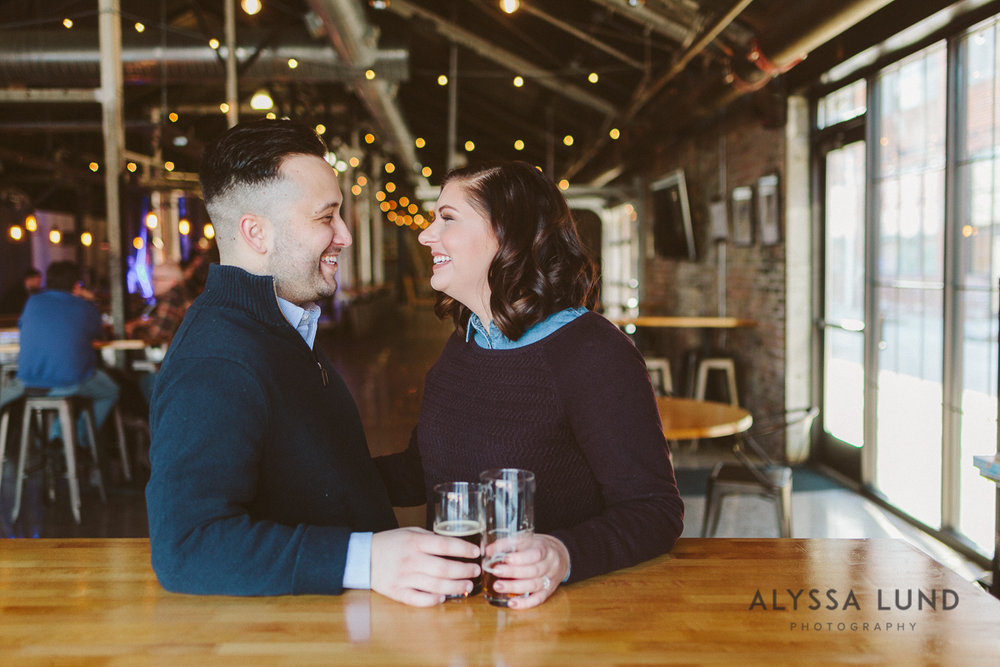 St. Paul Engagement Session in a Brewery-02.jpg
