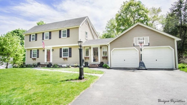 Renovated 4 br/2 bath colonial in the South School District.