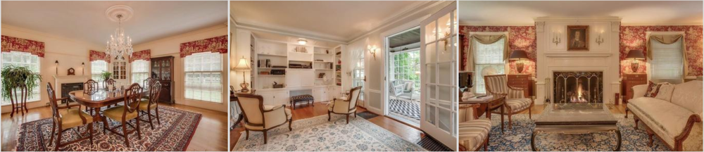 Stately and Impressive from first glance, this Georgian Colonial has been painstakingly restored/renovated (over $ 700,000 in recent updates). Combining the charm and dignity of a bygone era w/today's functionality and convenience, this house feels like HOME.