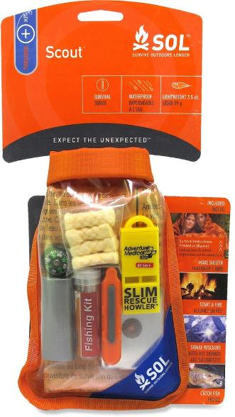 Mini Survival Kit- This may be a bit extreme but it is good to be prepared for any circumstances that may arise.