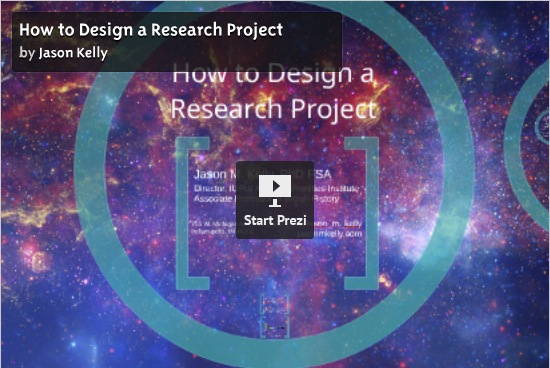 How to Design a Research Project: An Introduction to the