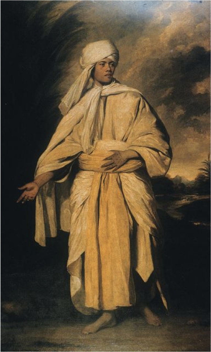 Omai by Joshua Reynolds