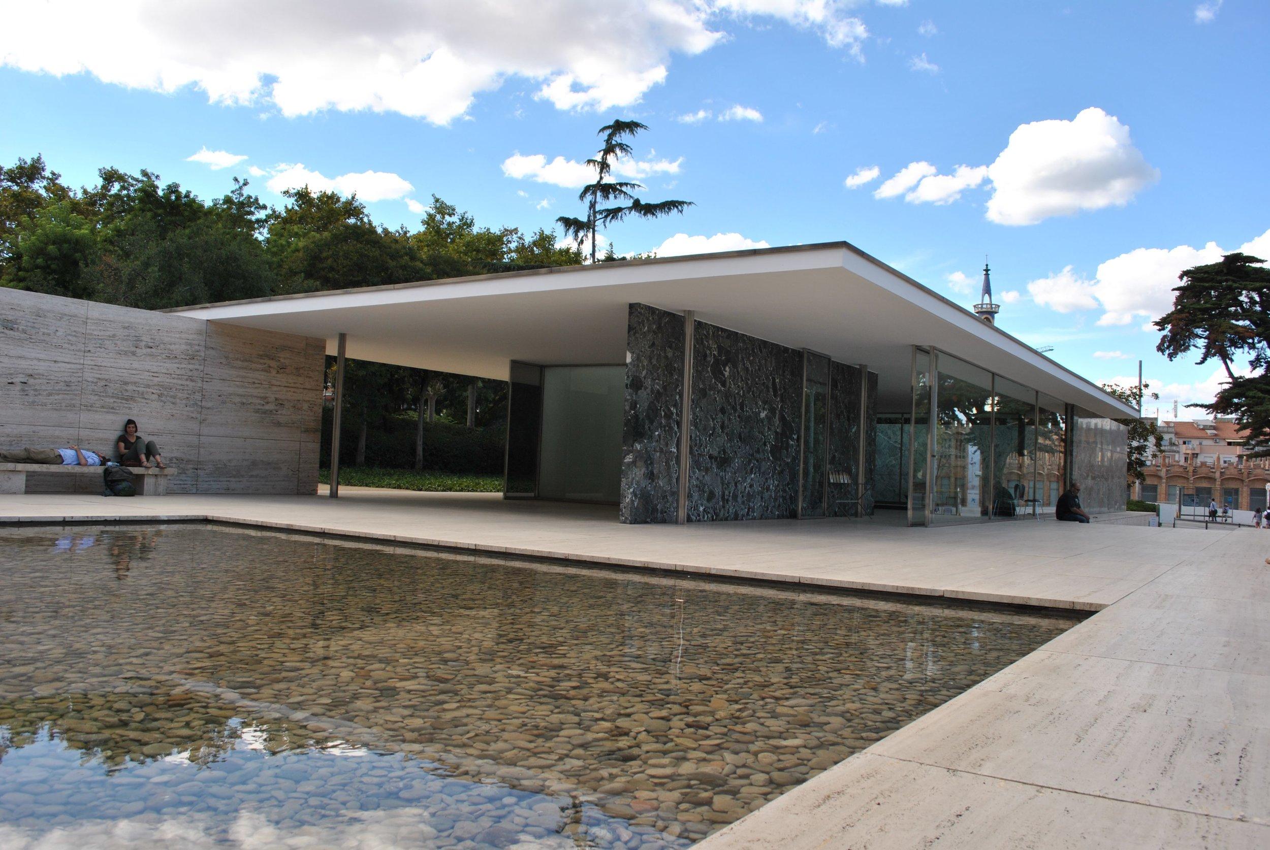 Mies Van Der Rohe Barcelona Pavilion Jason M Kelly