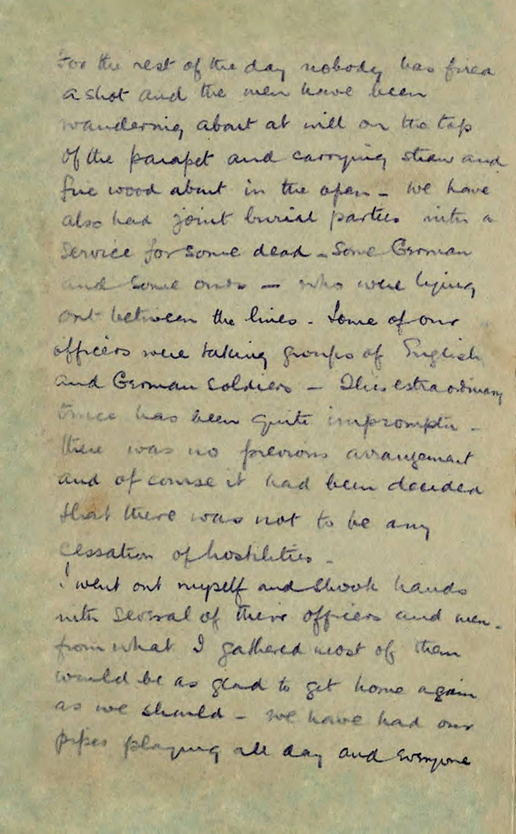 Christmas Truce Letter page 2