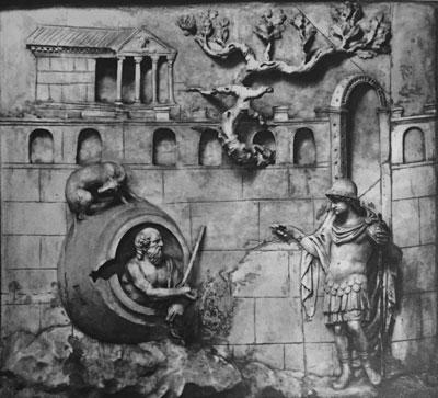 Diogenes Relief. Villa Albani, inv. no. 161