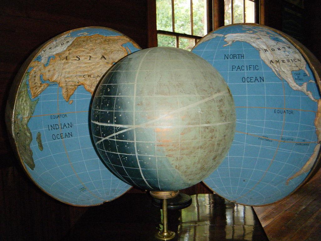 Koreshan Globe. Koreshan State Park