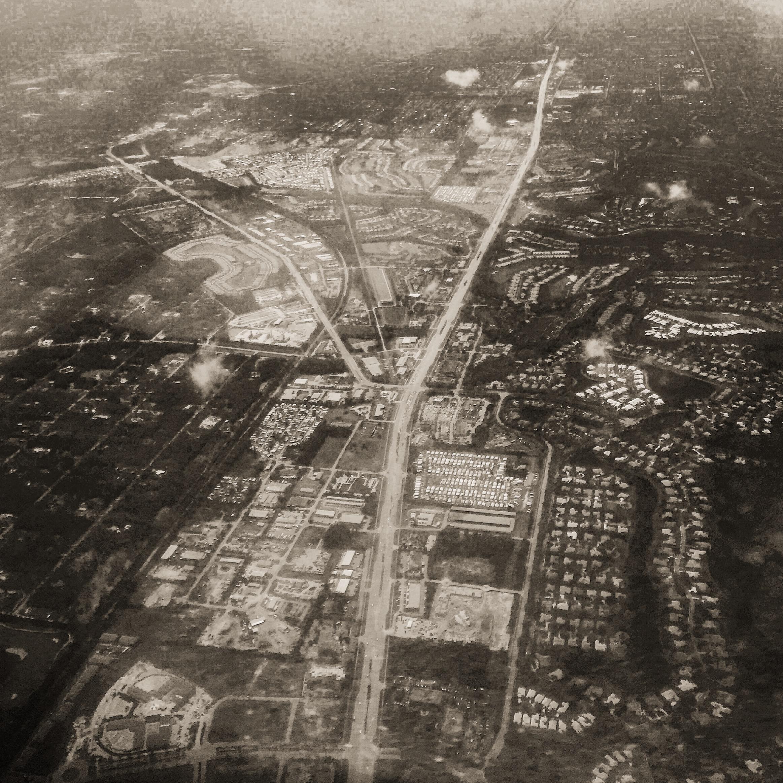 Aerial view of Estrero, FL
