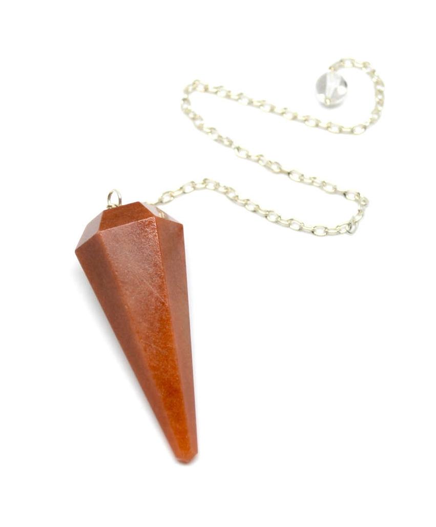 Orange Aventurine Pendulum - Best Vibes Ever