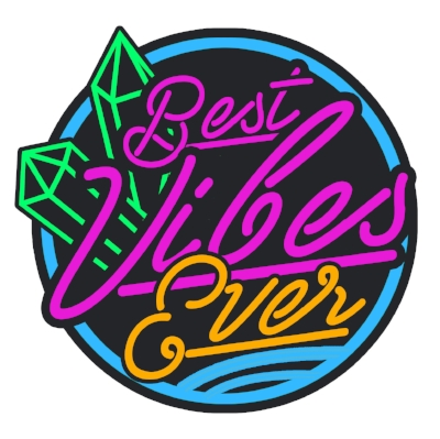 Best Vibes Ever Logo