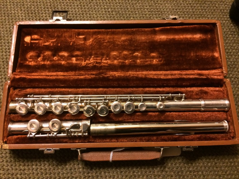 Artley Flute with case