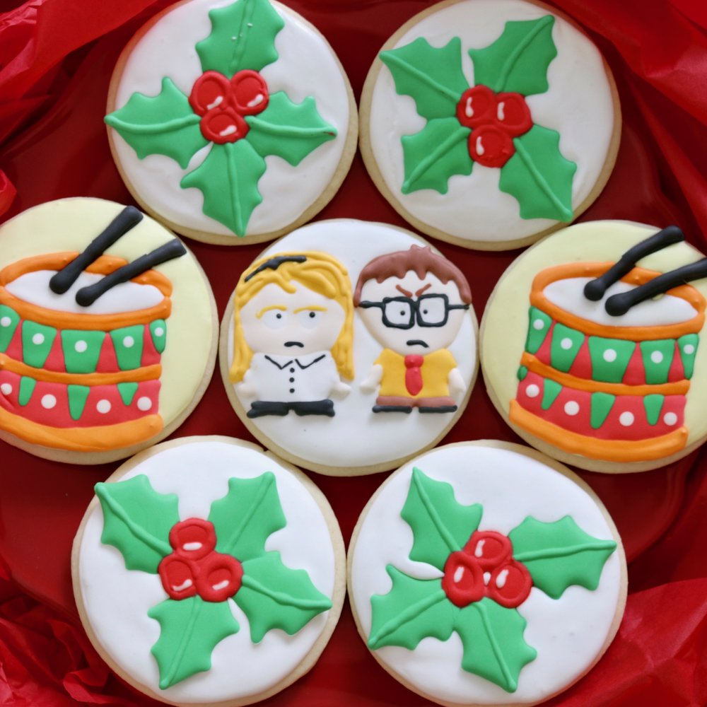 Angela and Dwight Holiday Cookies