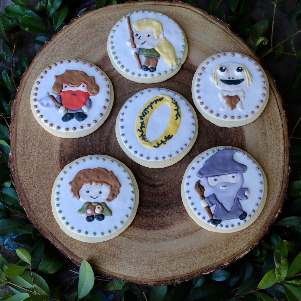 Lord of the Rings Cookies