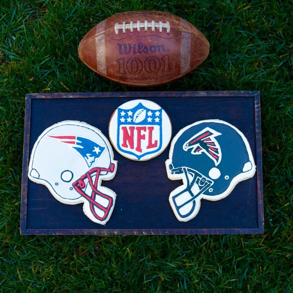 NFL Super Bowl Cookies