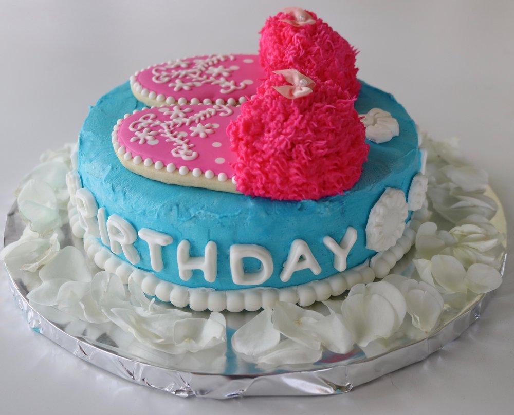 Slippers Cake