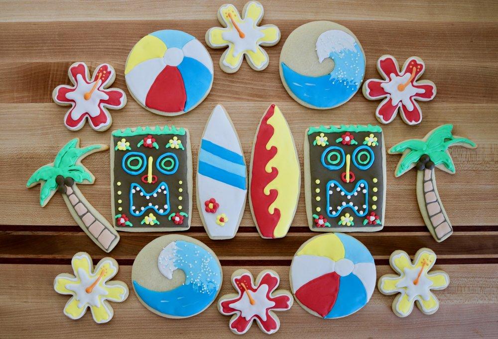 Beach/Island Cookies