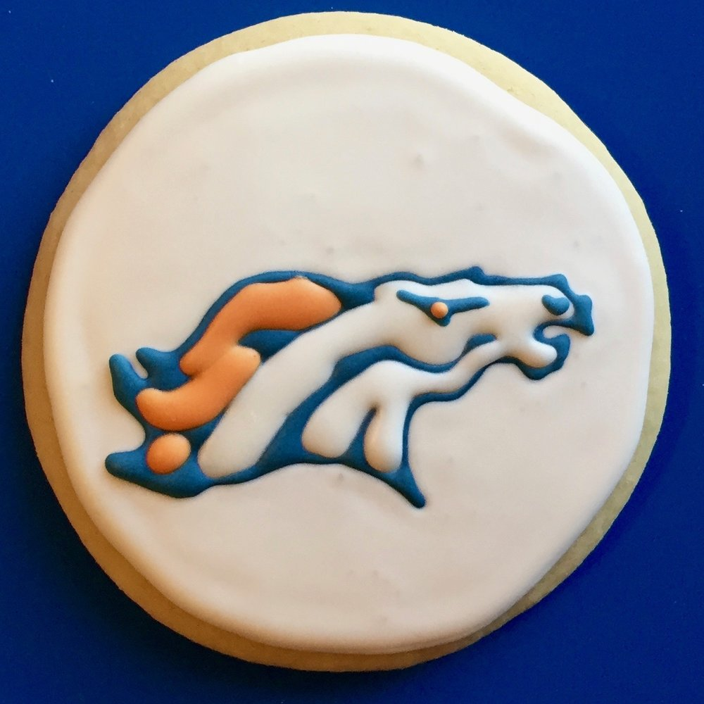 Denver Bronco Cookie