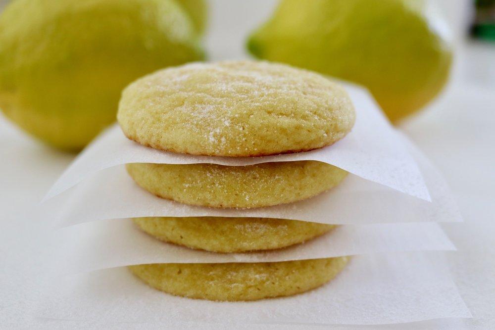 Sour Lemon Cookies