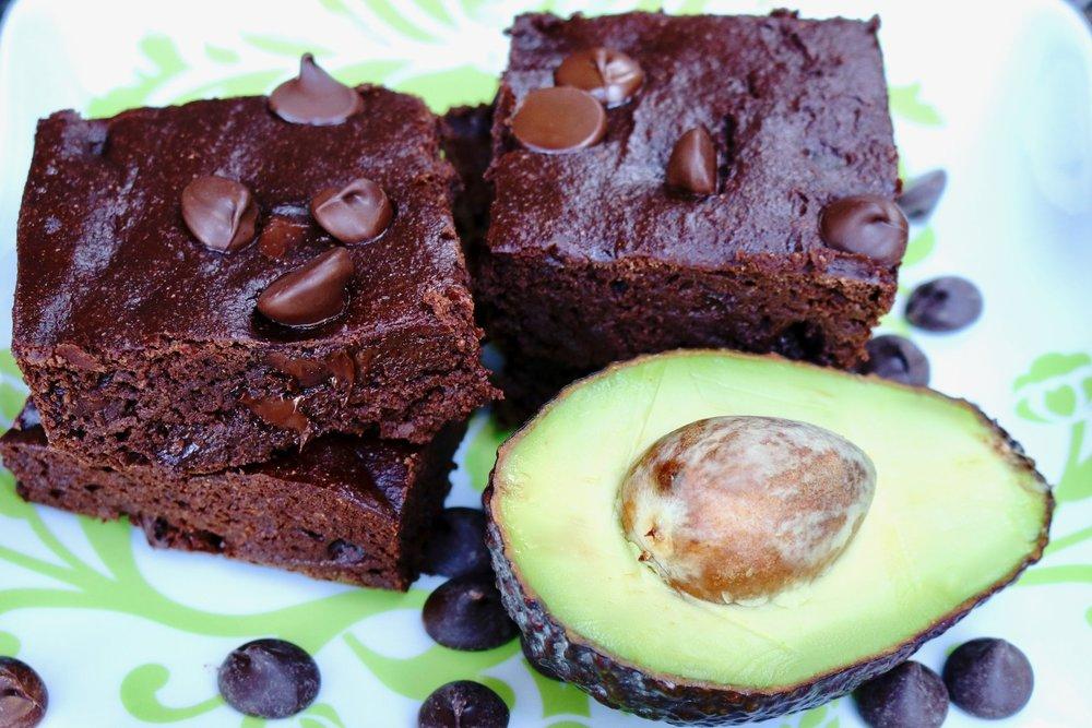 Vegan Avocado Brownies