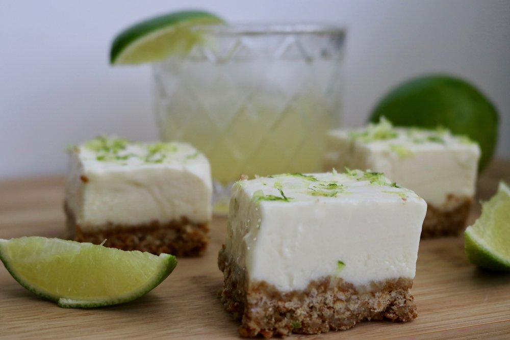 Margarita Pretzel Bars