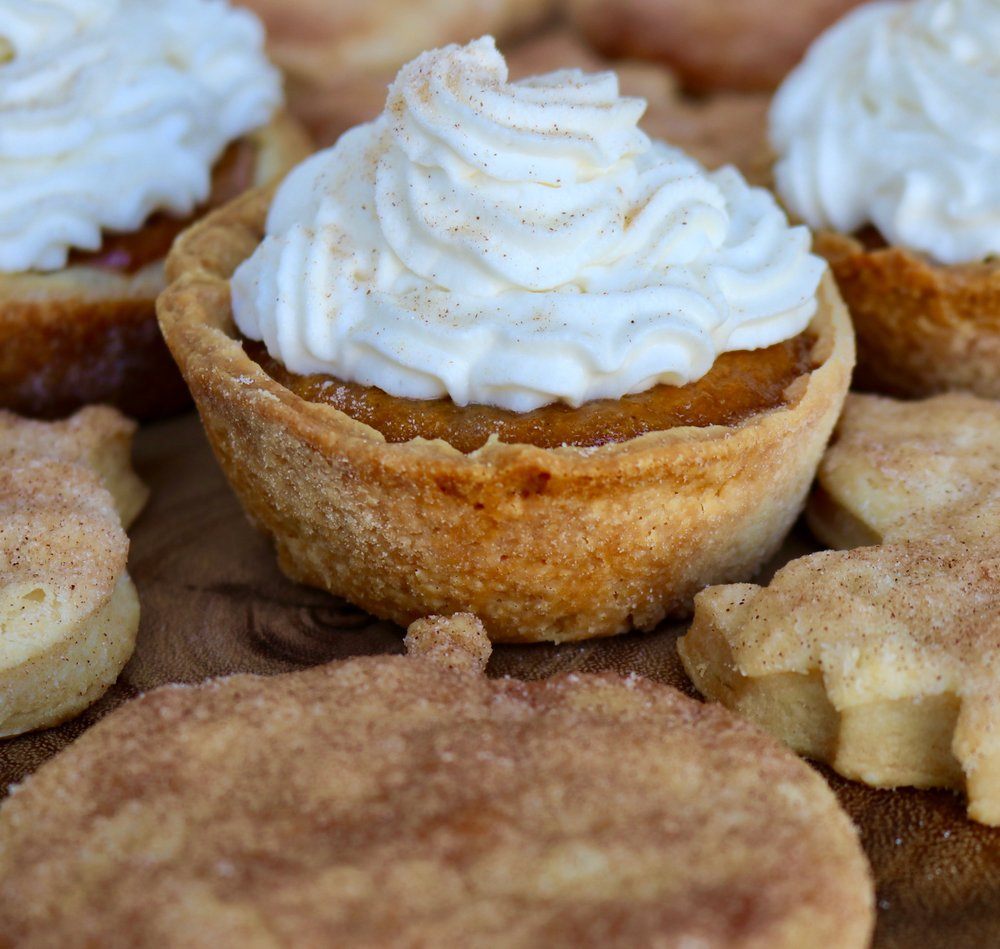 Mini-Pumpkin Pies