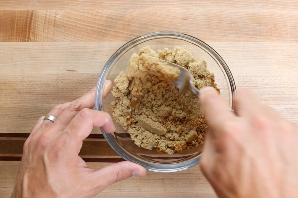 10. Allow the dough to double in size. Around 1 1/2 hours. While the dough is rising, prepare the filling by mixing the brown sugar and cinnamon together in a small bowl. -