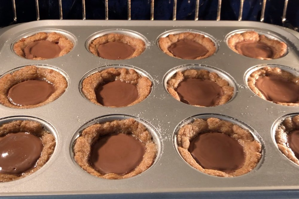 7. Bake the cookies for 10-12 minutes until the edges are golden brown. -