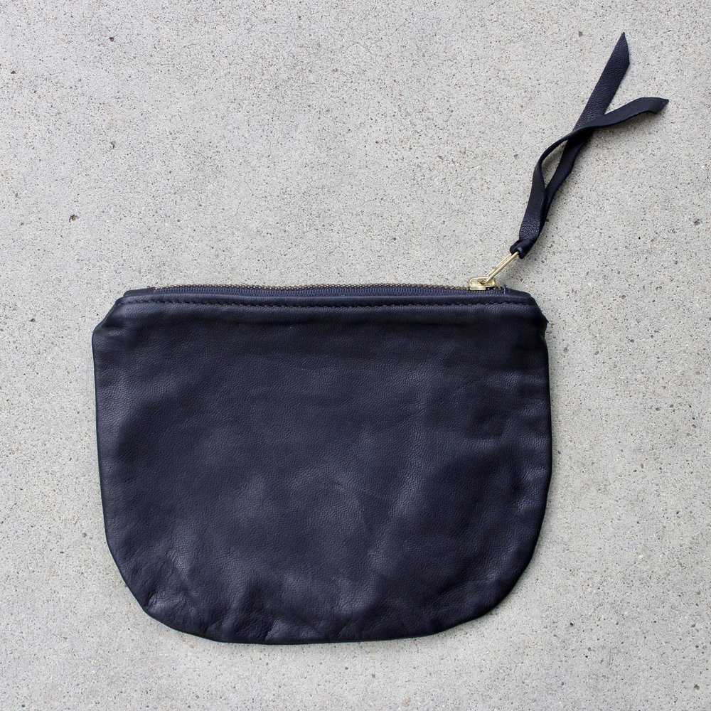The Black Leather Pouch