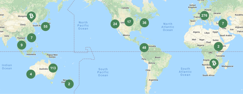 Marco Coino now has over 600 brick-and-mortar locations that accept BCH