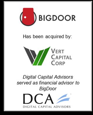 BigDoor Vert Capital Corp Tombstone.png