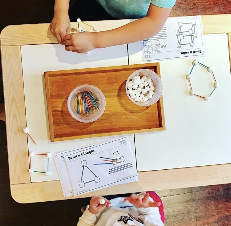 Geometric shapes — little wonder lab