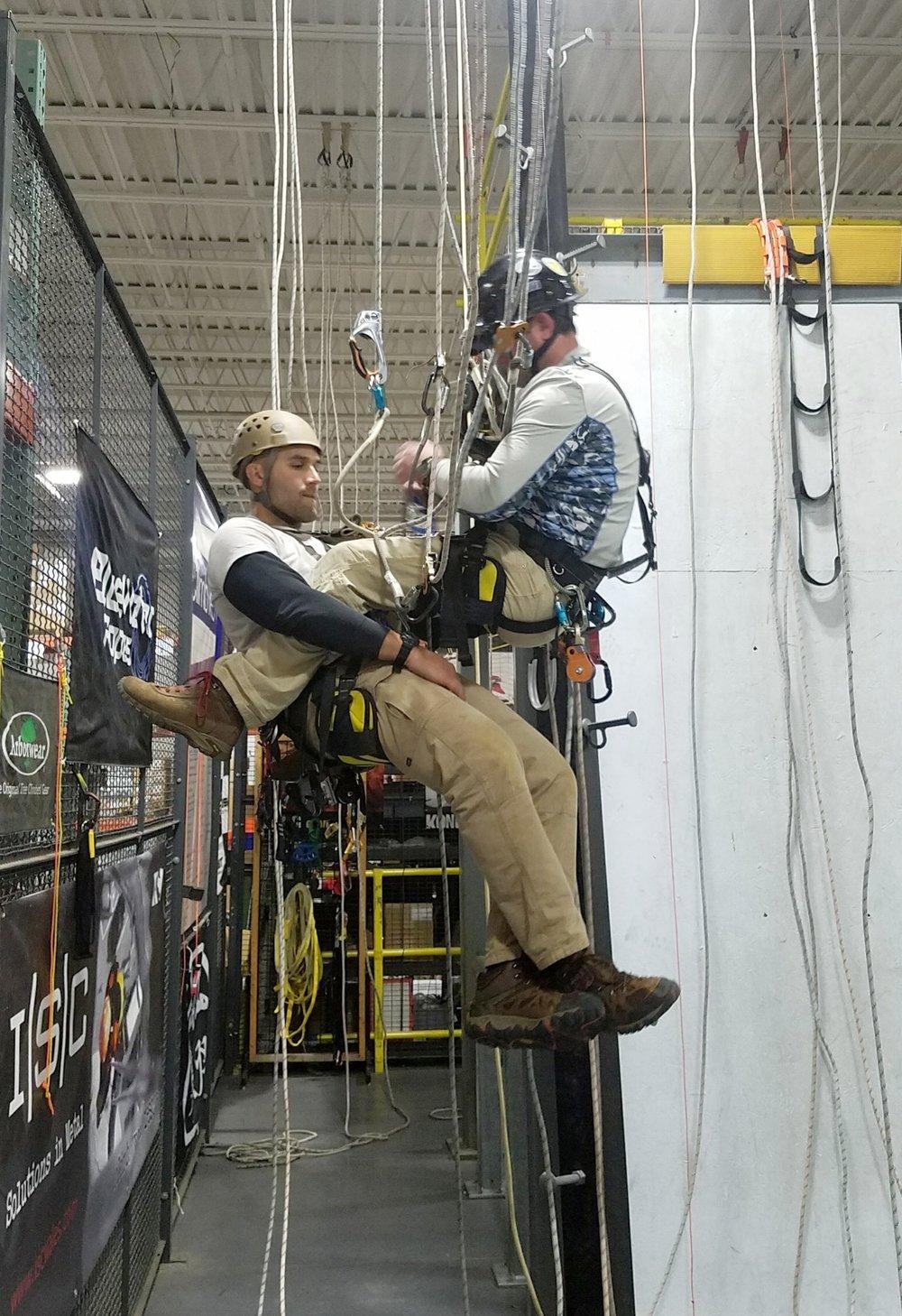 SATS technicians during a SPRAT evaluation.