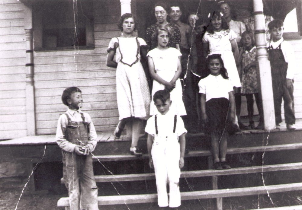 Students at the Austin School 1937