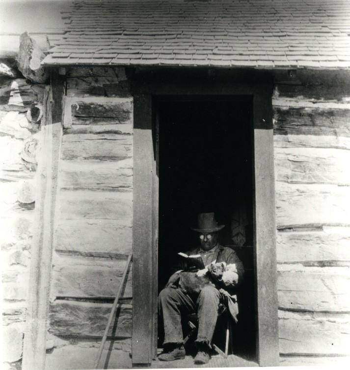 President Roosevelt with Skip