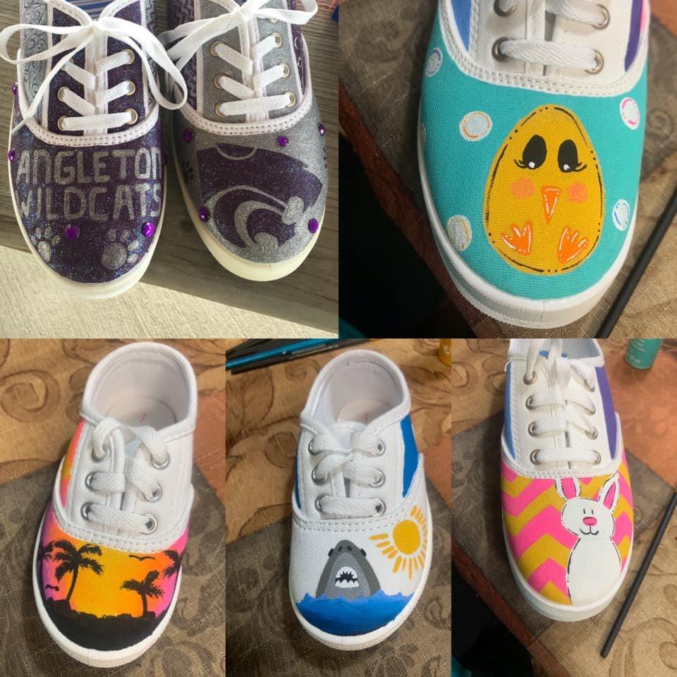 Paint your own Canvas Shoes — Art