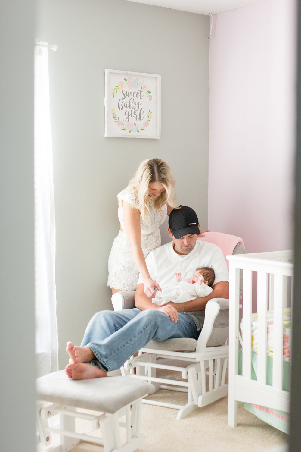 Sarah Jo's newborn lifestyle session