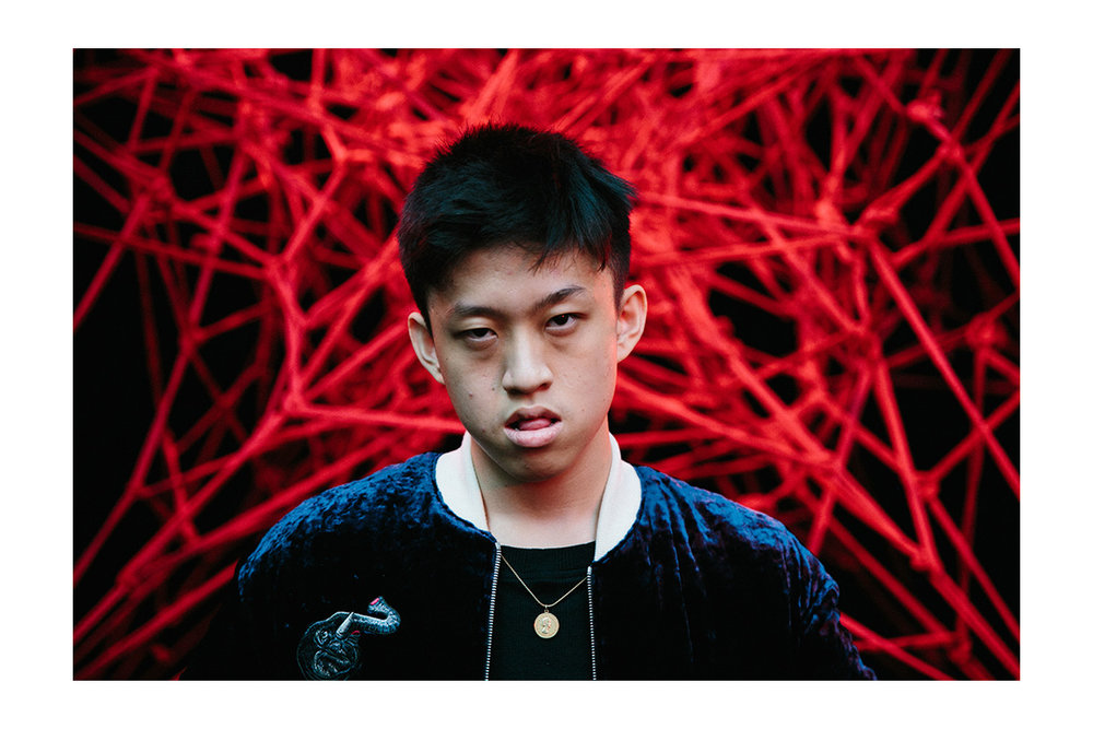 Rich Chigga pictured at the Christian Dada launch in 2016 (Image courtesy of  HighSnobiety )