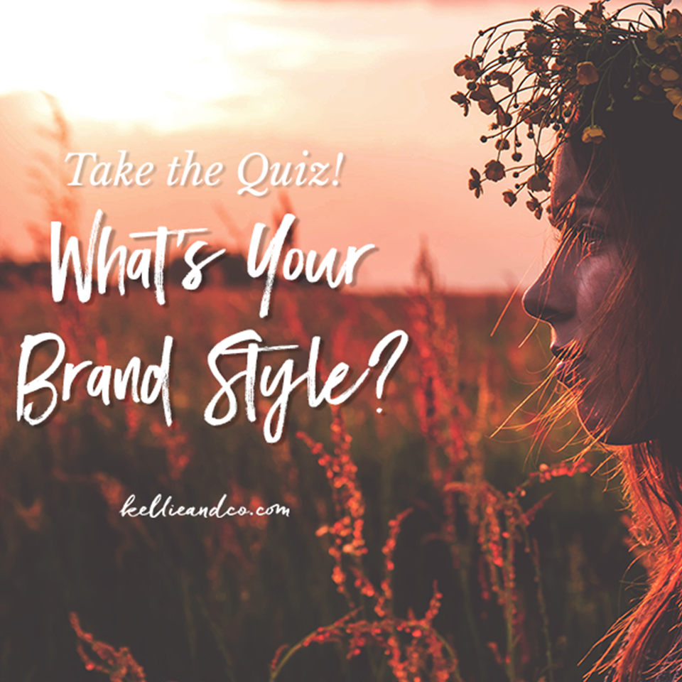 What Your Brand Style Quiz kellieandco.com
