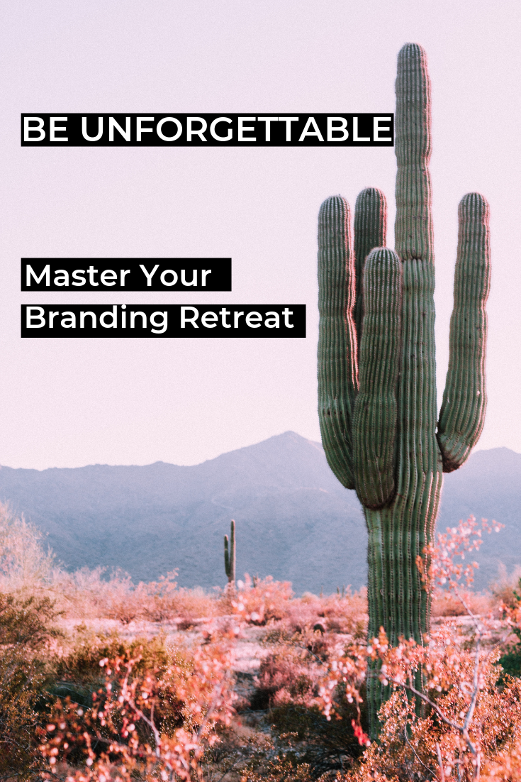 Brand Retreat Workshop is for the solo entrepreneur who wants to create a personal brand and do it properly so they can be seen, heard and remembered