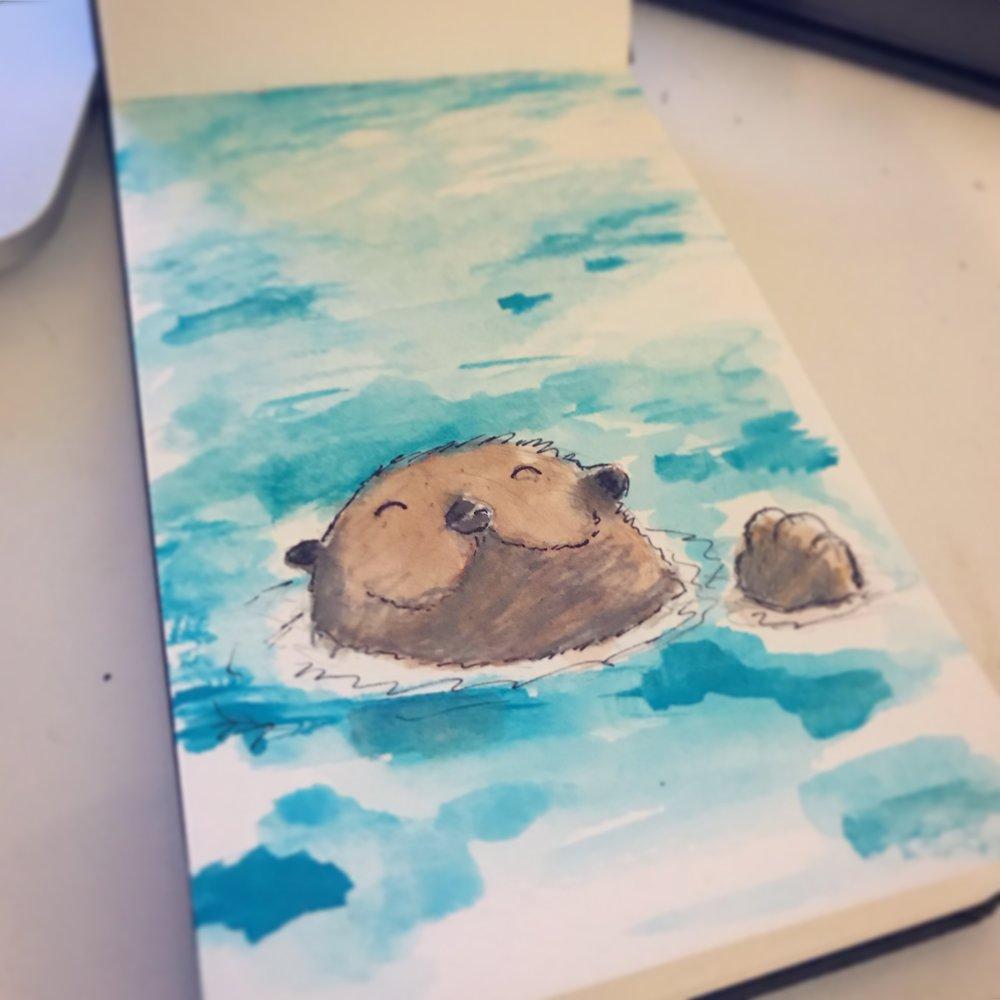 Watercolor - Sketchbook 1