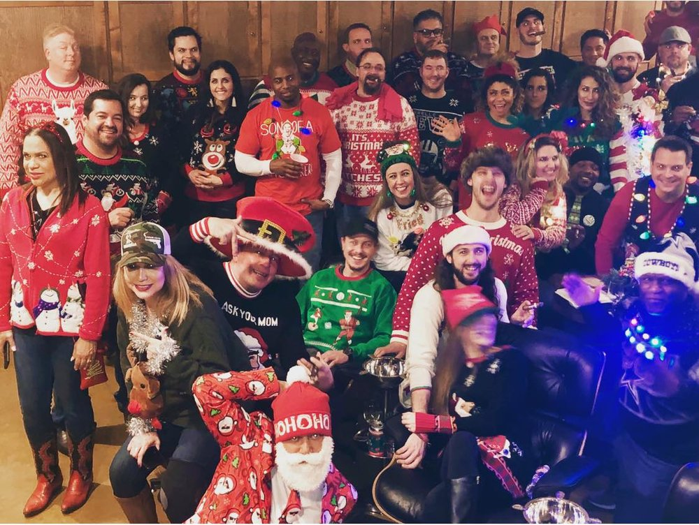 Ugly Sweater Party was Lit