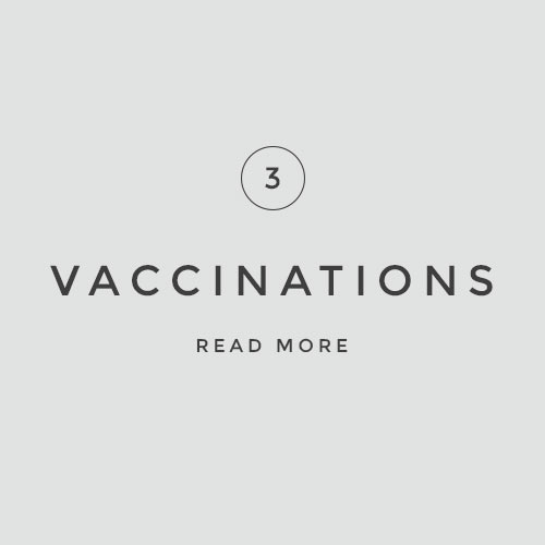 VACCINATIONS    Read more