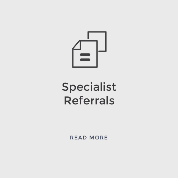 Specialist Referrals    Read More