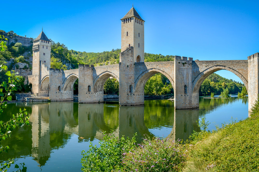 Cahors Bridge, France