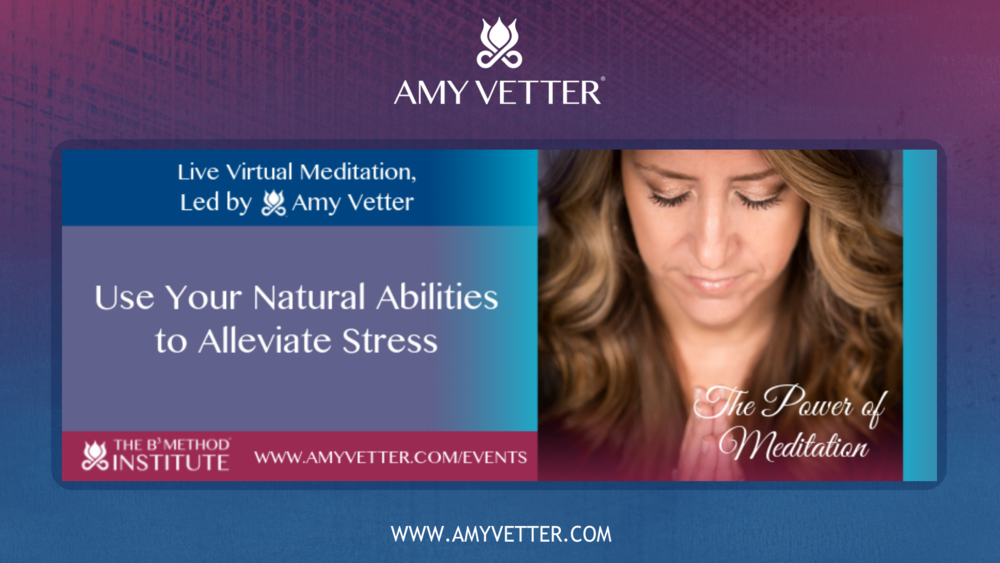 Monthly Webinars - Recorded Monthly Webinars Led by Amy Vetter and Team to Discuss How to Apply the B³ Method Into Your Life