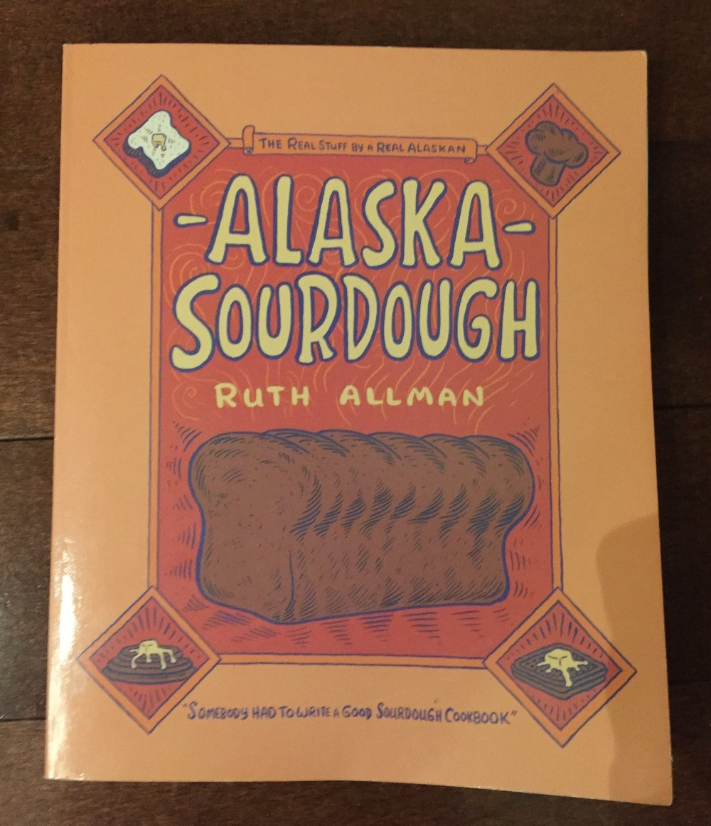 Alaska Sourdough. This book might be my favorite on the list. The book is completely hand written. I happen to pick this up a value village and few months ago. I have learned a lot of history of sourdough and why it is so important to more isolated communities. When other food wasn't accessible they would normally have flour and water and of course their starter. There is a lot of love in this book.
