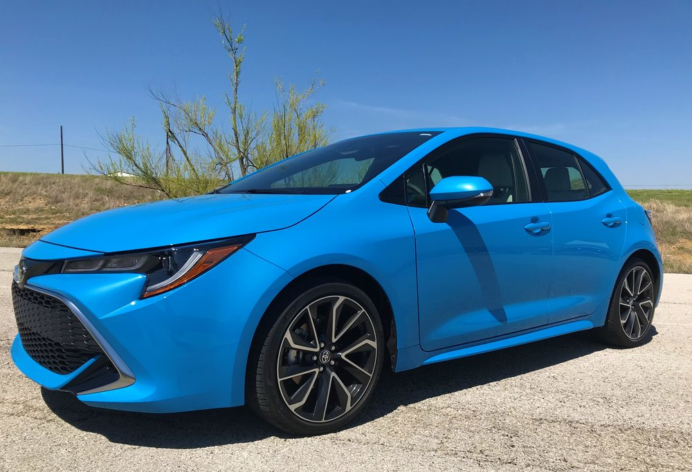 I remember Corollas from back in the 80s and 90s, and this isn't anything like those. The new hatchback is zippy, sporty, and more fun than ever.